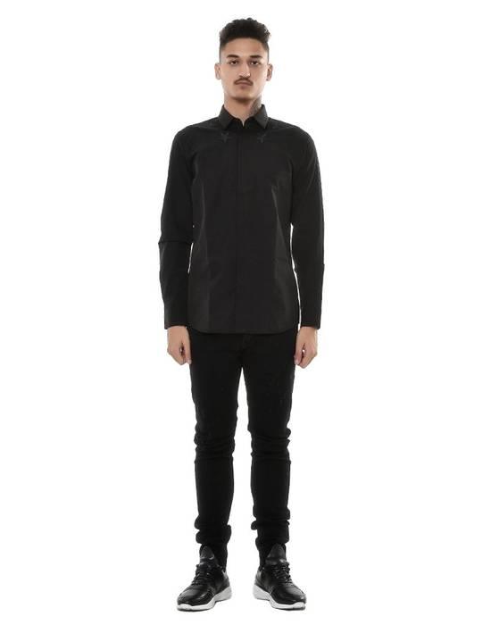 Givenchy Givenchy Black Stars Shirt (Size - 43) Size US S / EU 44-46 / 1 - 1