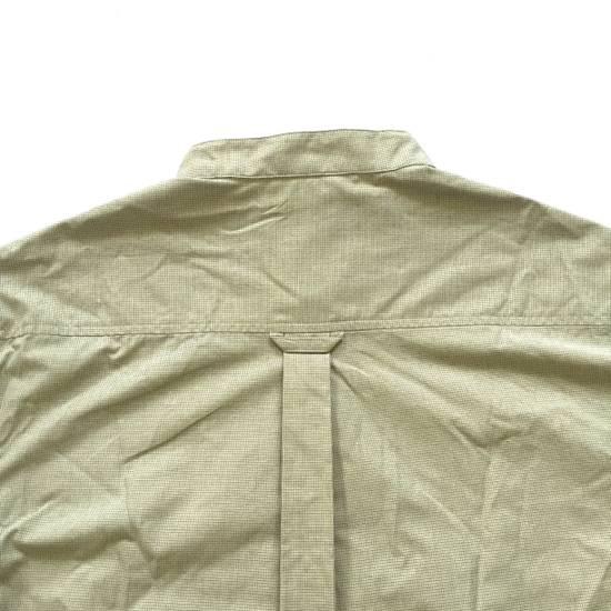 Balmain Tan Band Collar Metal Logo Shirt NWT Size US M / EU 48-50 / 2 - 11