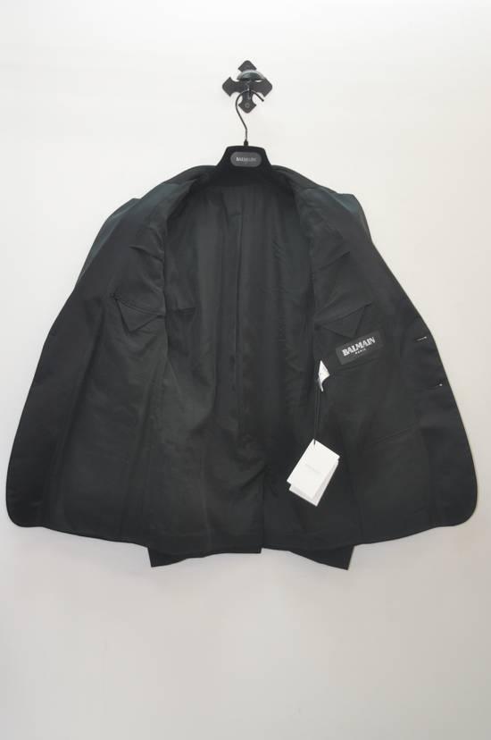 Balmain Balmain silk collar dinner blazer Size 48S - 2