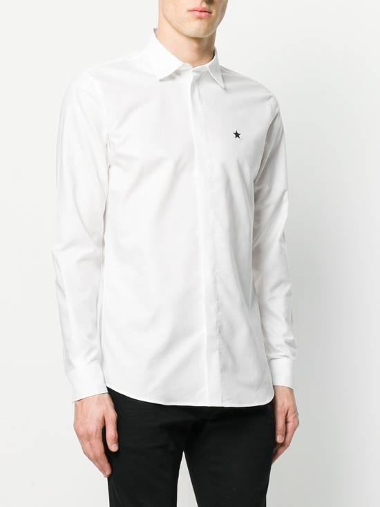 Givenchy White Chest Star Shirt Size US L / EU 52-54 / 3 - 2