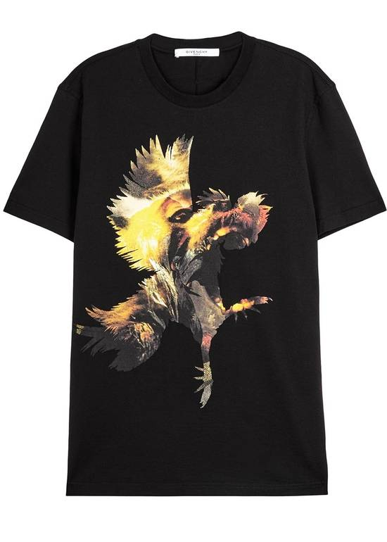 Givenchy Monkey Rooster Print T-shirt Size US XL / EU 56 / 4 - 1
