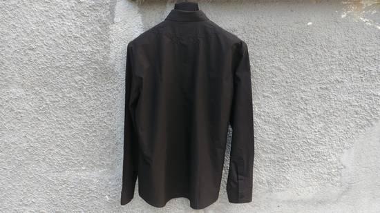 Givenchy $520 Givenchy Black Star Embroidered Rottweiler Shark Men's Shirt size 41 (L) Size US L / EU 52-54 / 3 - 8