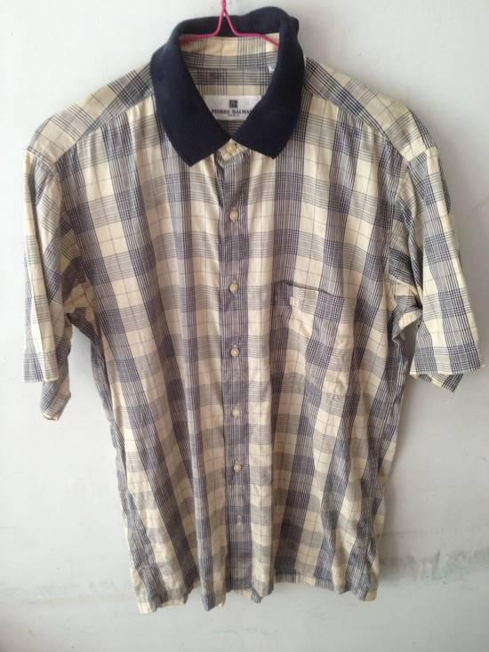 Balmain Vintage Shirt Pierre Balmain Burrbery Motif Authentic Size US M / EU 48-50 / 2