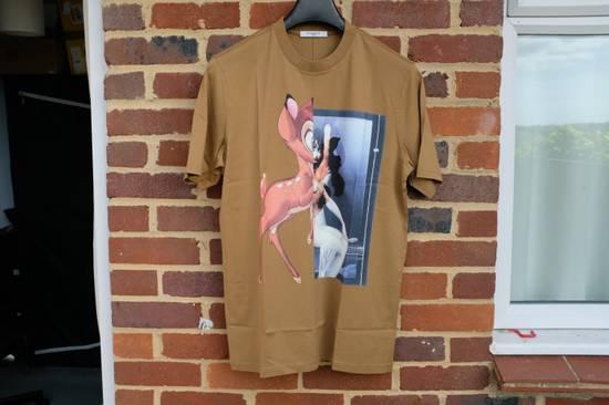 Givenchy Khaki Bambi T-shirt Size US XS / EU 42 / 0