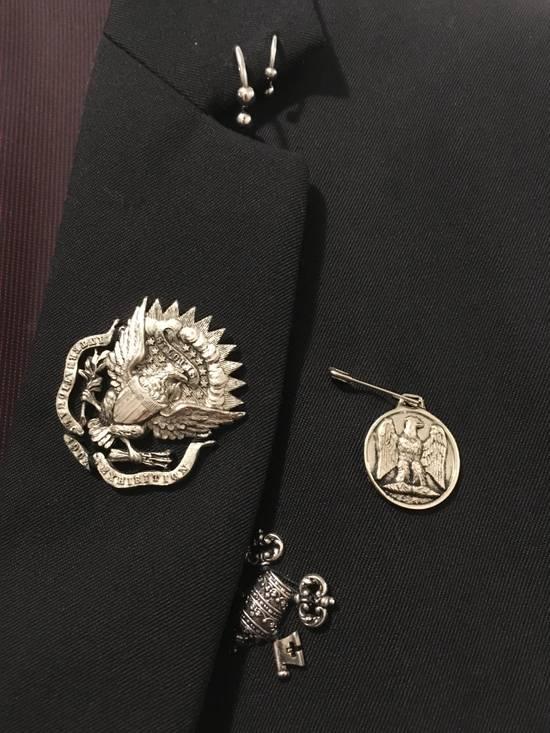 Balmain SS11 Crest/Pin Blazer Size 36R - 1