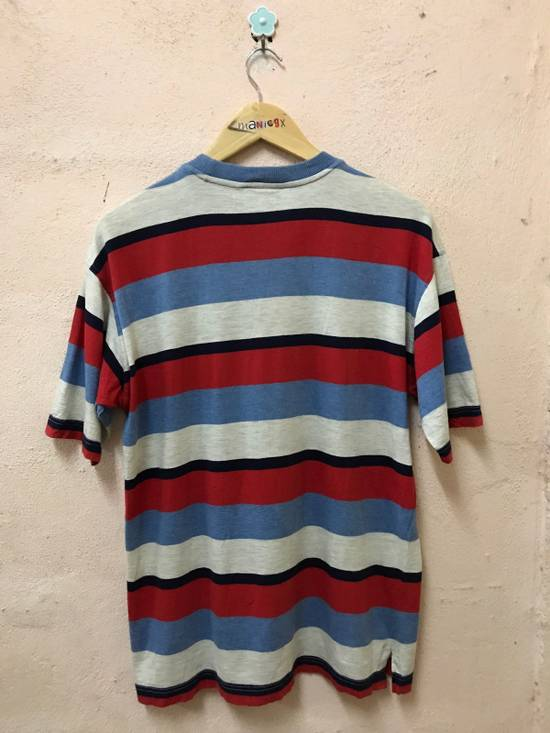 Givenchy Cap Ferrat Stripe Tshirt Embroidered Logo Size US M / EU 48-50 / 2 - 1