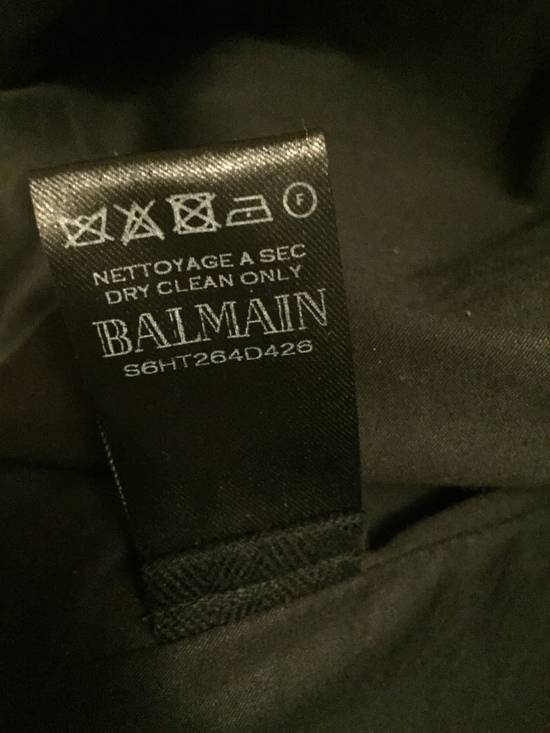 Balmain Balmain Waxed cotton moto jacket Size US M / EU 48-50 / 2 - 4