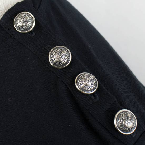 Balmain Black Lion Embroidered Long Sleeve Crewneck T-Shirt M Size US M / EU 48-50 / 2 - 4