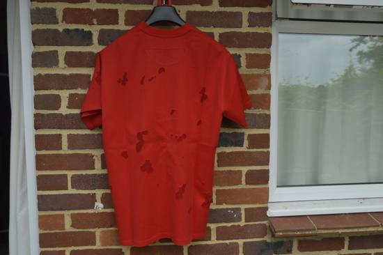 Givenchy Red Destroyed Rottweiler T-shirt Size US M / EU 48-50 / 2 - 5