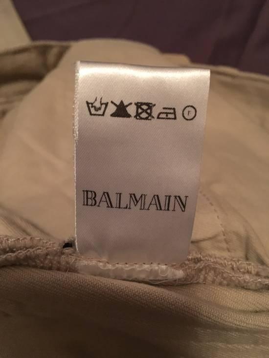 Balmain Biker Cotton Pants Size US 29 - 7
