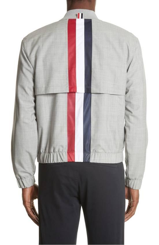 Thom Browne Lightweight Wool Bomber Jacket NEW Size US XL / EU 56 / 4