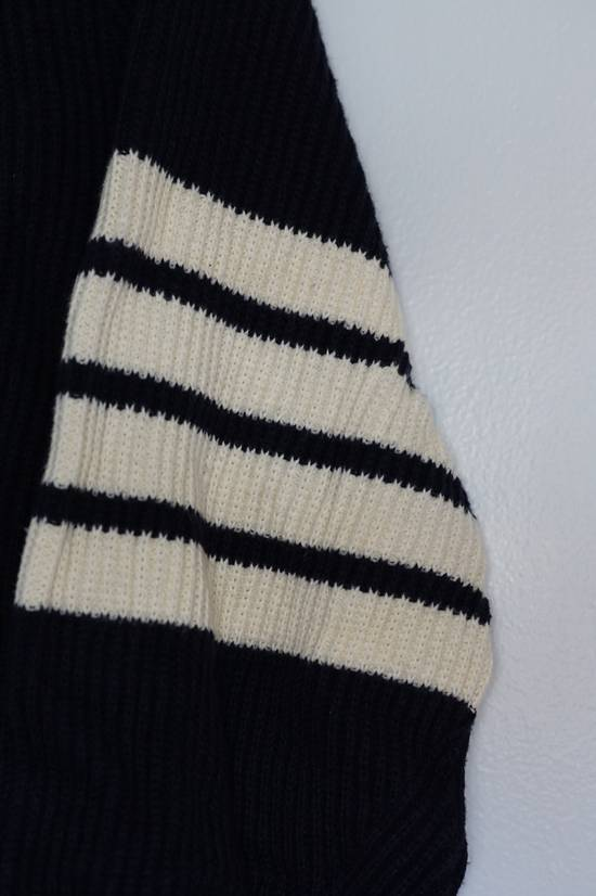 Thom Browne Blue Striped Ribbed-Knit Cotton Sweater Size US M / EU 48-50 / 2 - 4