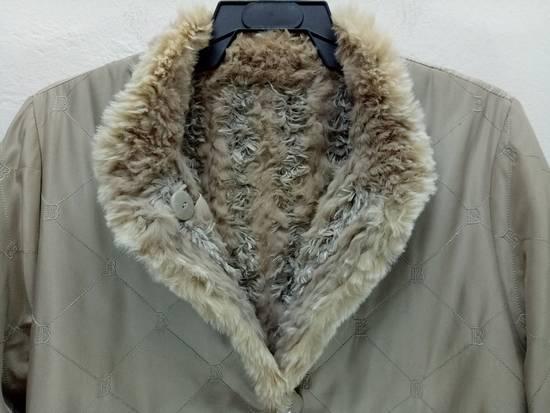 Balmain Vintage Balmain Paris Fur and Silk Reversible Jacket RARE Design Size US L / EU 52-54 / 3 - 6
