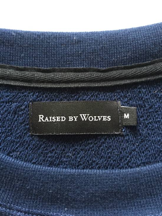 Raised By Wolves Micrologo Pocket Crewneck in Indigo/Navy Size US M / EU 48-50 / 2 - 5