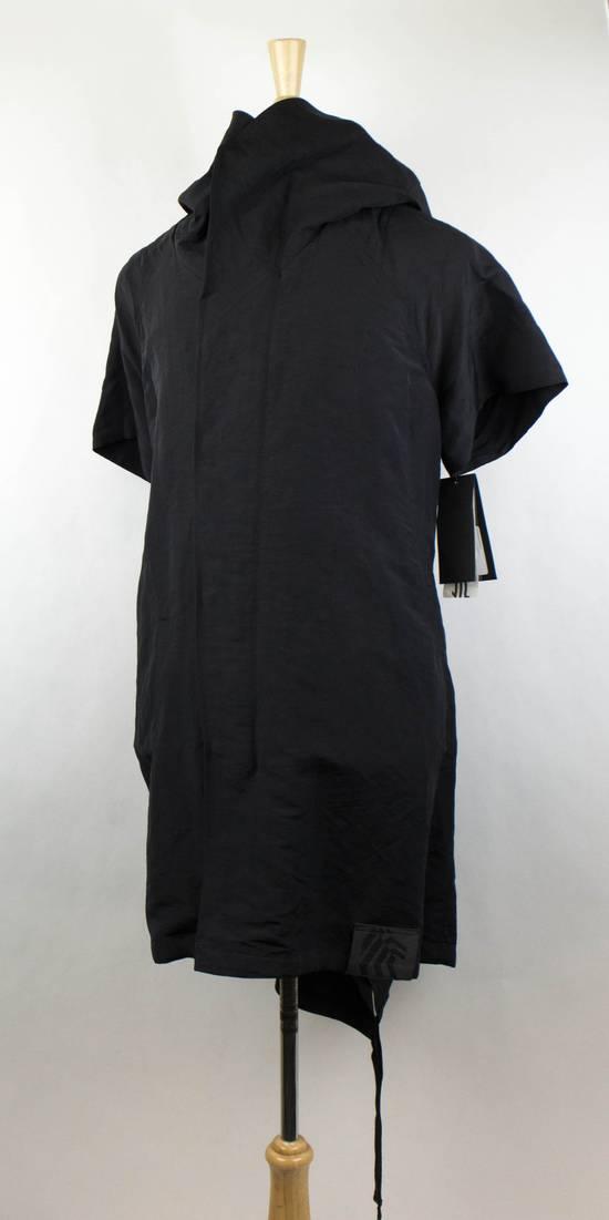 Julius Men's Black Linen Blend Fishtail Parka Coat Size 0/2XS Size US XS / EU 42 / 0 - 1
