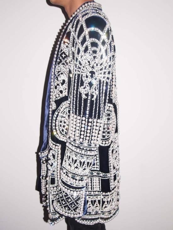 Balmain Balmain Fall 2012 Swarovski Crystal & Pearl Fabergé Tuxedo Size US XXL / EU 58 / 5 - 1