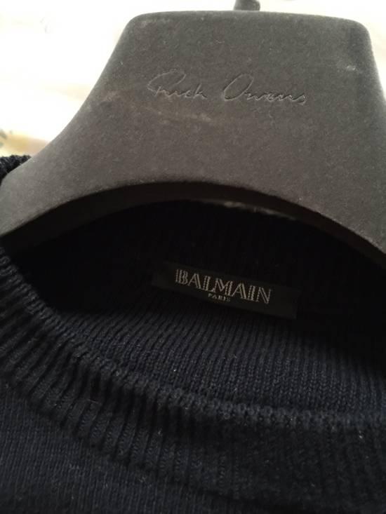 Balmain Balmain Navy Strips Sweaters Size US S / EU 44-46 / 1 - 2