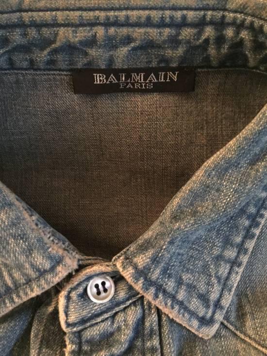 Balmain Denim balmain Shirt Size US XS / EU 42 / 0 - 4