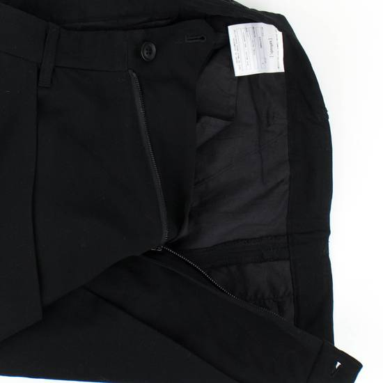 Julius 7 Black 'Slim Drop Crotch' Slim Fit Casual Pants Size 4/L Size US 36 / EU 52 - 1