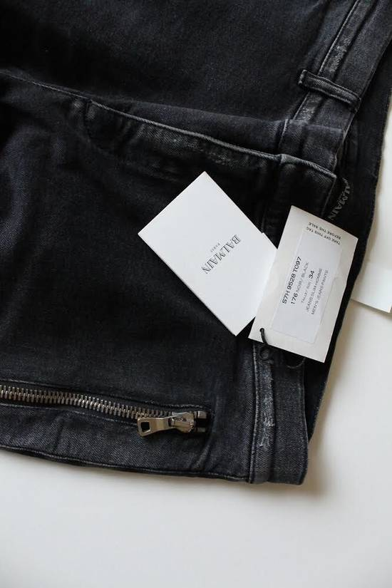 Balmain Biker Jeans Size US 34 / EU 50 - 3