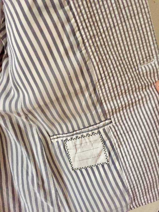 Thom Browne Striped Short Sleeve Short Suit w/ Shirt Size 36S - 3