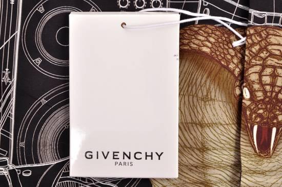 Givenchy 1050$ Black Cotton Geometric Cobra Print Shirt sz 38 Size US S / EU 44-46 / 1 - 5