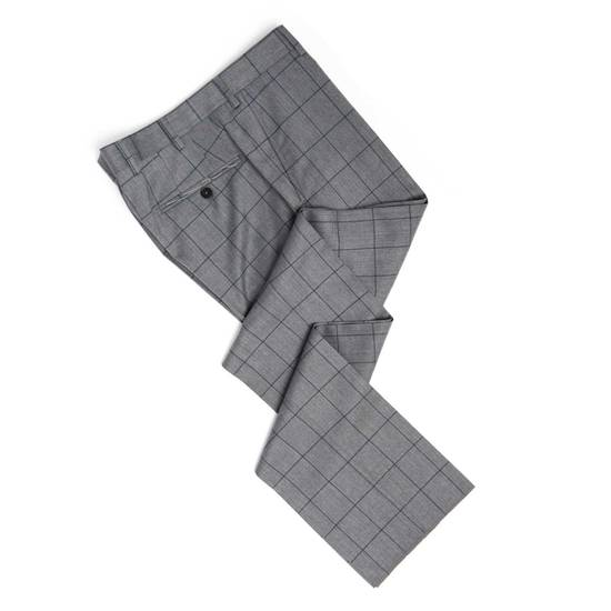 Spier And Mackay Grey Windowpane VBC Slim Suit Size 42R - 1