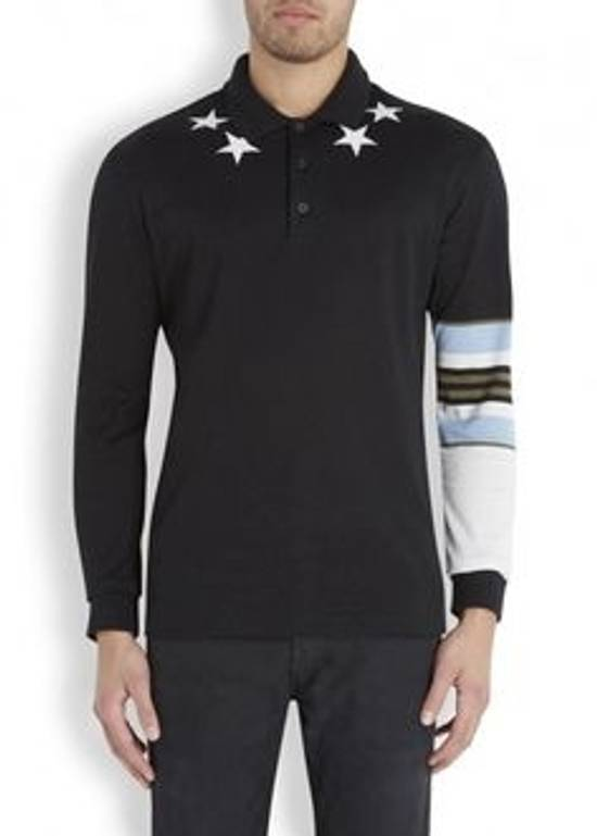 Givenchy Givenchy Star Striped Polo Size US L / EU 52-54 / 3 - 3