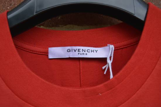 Givenchy Red Destroyed Rottweiler T-shirt Size US L / EU 52-54 / 3 - 2