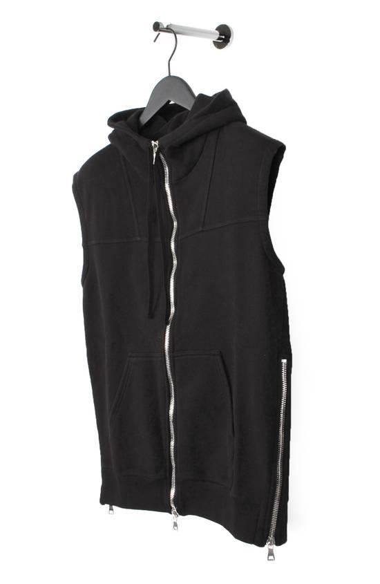 Balmain Original Balmain Hooded Black Men Sleeveless Sweatshirt Top Vest in size M Size US M / EU 48-50 / 2 - 1