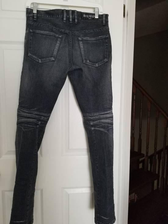 Balmain Balmain Biker Grey Washed Jeans Size 29 Size US 29 - 6