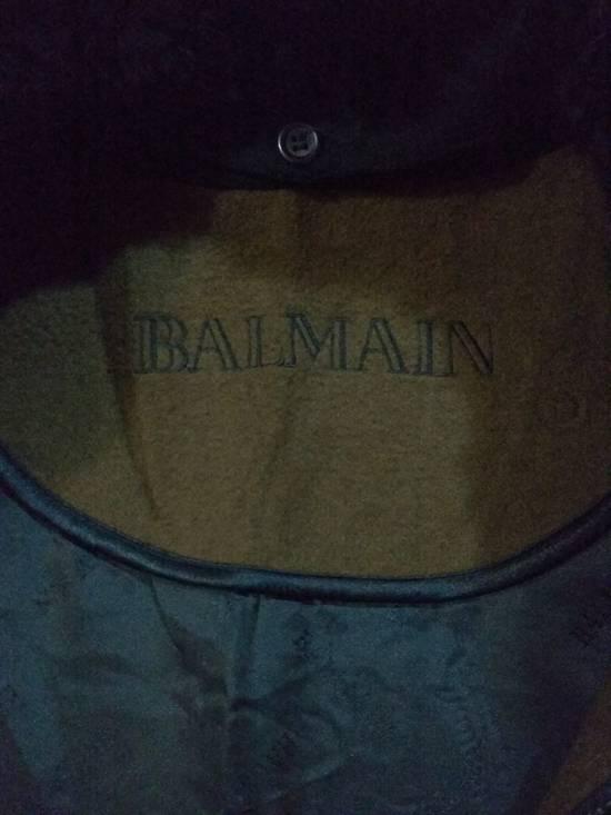 Balmain Vintage Jacket Wool With Fur BALMAIN Rare Size US L / EU 52-54 / 3 - 6