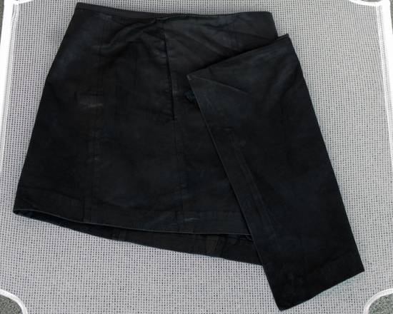 Julius SS13 Asymmetric Leather Skirt Size US 32 / EU 48