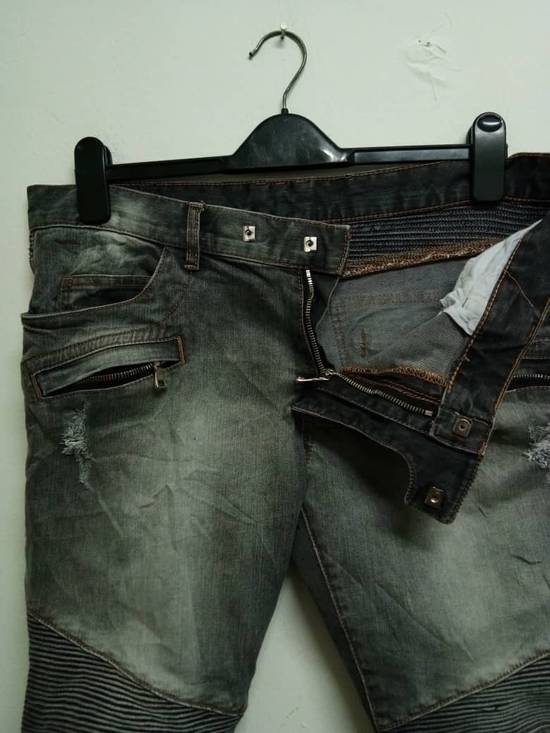 Balmain Rare Grey Balmain Denim Nice Faded Design Size US 36 / EU 52 - 6