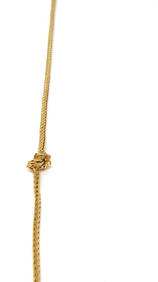 Givenchy Barbed wire gold plated necklace Size ONE SIZE - 5