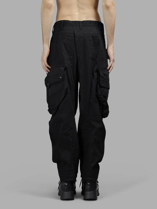 Julius NO MORE DROP, Black Gas Mask Cargo Pants SIZE 3 Size US 33 - 5