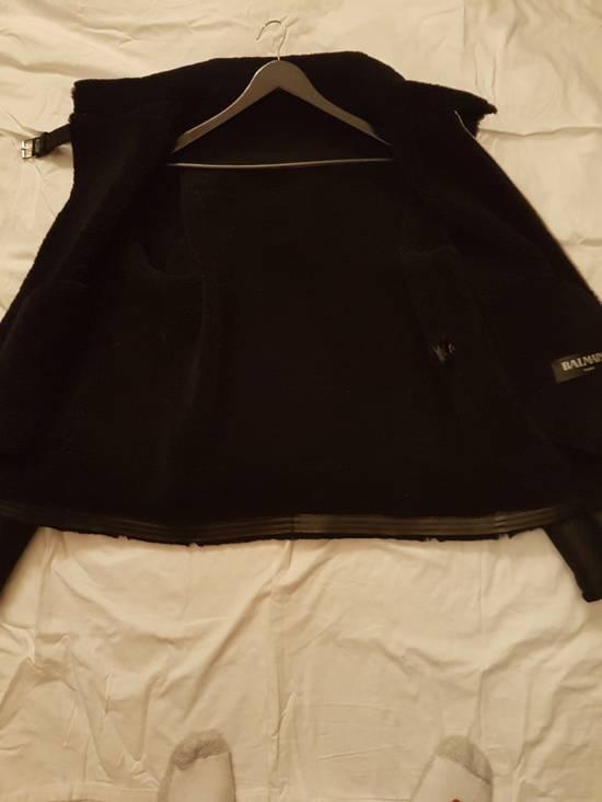 Balmain LAST DROP !!Shearling Leather Aviator Bomber Jacket Size US L / EU 52-54 / 3 - 4