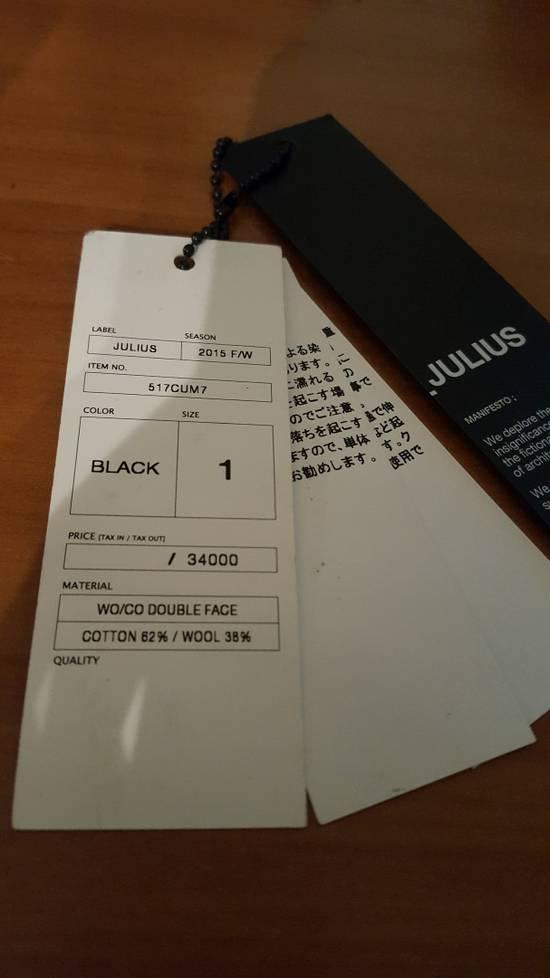 Julius Double Face trainer black Size: 1 Size US S / EU 44-46 / 1 - 8