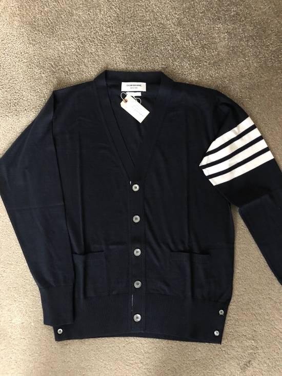 Thom Browne * FINAL DROP * Merino Wool 4 Bar Cardigan Size US XS / EU 42 / 0