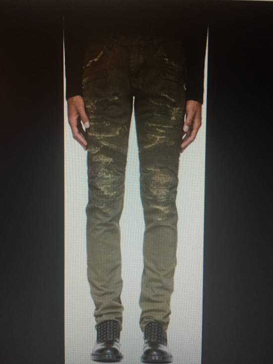 Balmain Distressed Slim Biker Jeans Size US 32 / EU 48 - 2