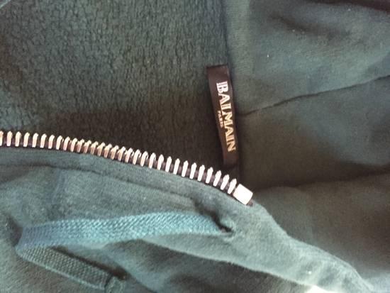 Balmain Forest Green Pullover Hoodie Size US XS / EU 42 / 0 - 6