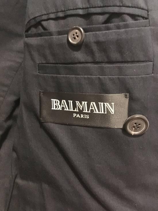 Balmain AW11 Navy Double Breasted Blazer Size 34R - 6