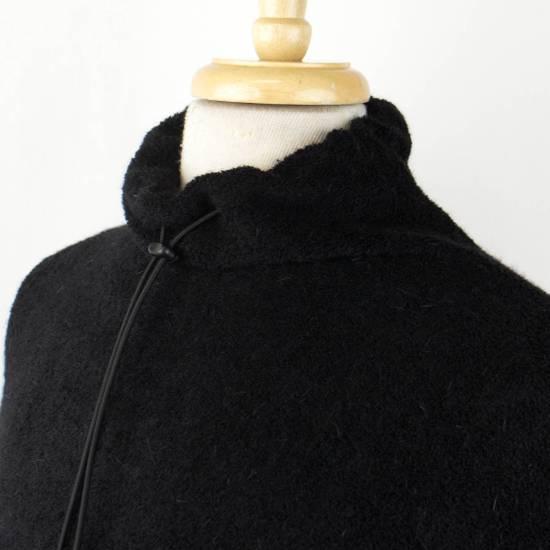 Julius 7 Black Wool Blend W/ Drawstring Pullover Sweater Size 3/M Size US M / EU 48-50 / 2 - 5