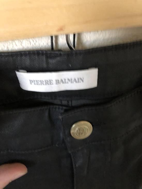 Balmain Balmain Waxed Biker Jeans Size US 32 / EU 48 - 2