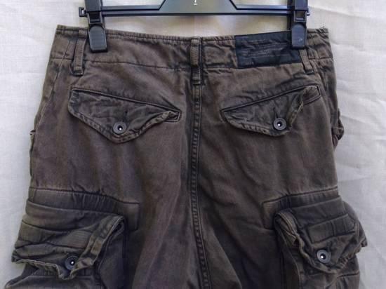Julius Green Denim Gas Mask Cargo Pants s/s 13 Size US 29 - 6