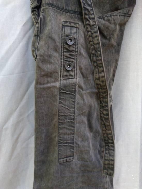 Julius Green Denim Gas Mask Cargo Pants s/s 13 Size US 31 - 8