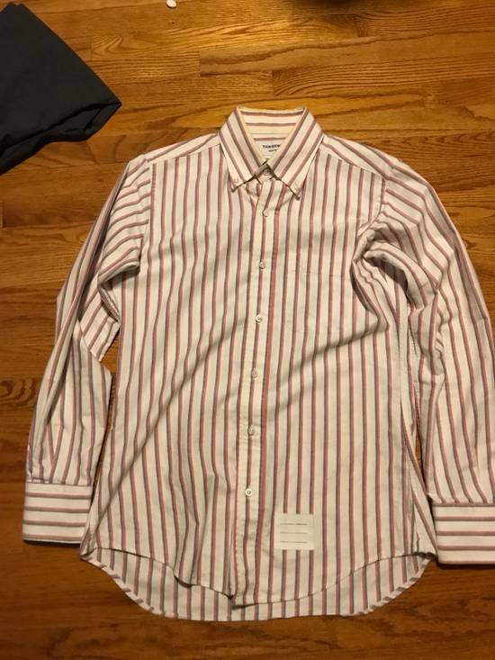 Thom Browne Striped Dress Shirt Size US S / EU 44-46 / 1