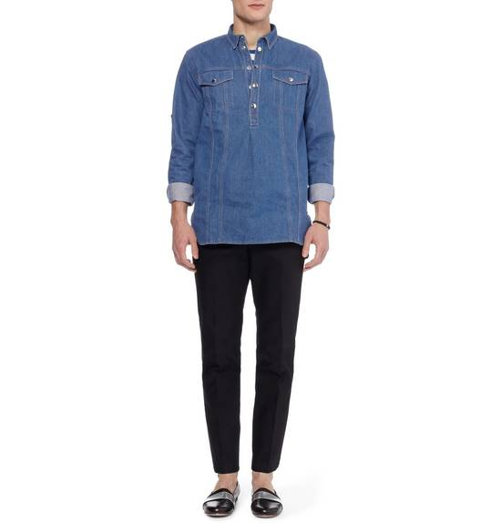Balmain Denim shirt from Spring/Summer 14 collection Size US M / EU 48-50 / 2