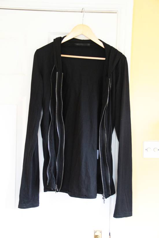 Julius Triple zipper black hoody Size US M / EU 48-50 / 2 - 1