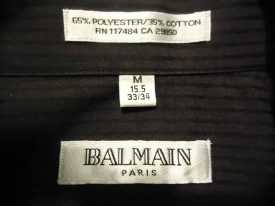 Balmain Button Down Striped Shirt Size US M / EU 48-50 / 2 - 2